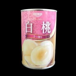 白桃 2つ割り(缶詰)
