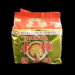 正麺 醤油味